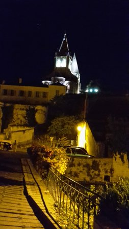 Genille, Francia: Loches at night