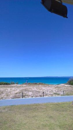 Woorim, Australia: From verandah Bribie Island Surf Club