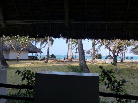 Karafuu Beach Resort and Spa: Vue depuis la terrasse...