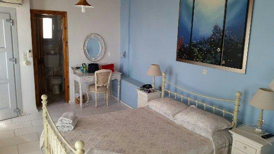 Aegean Hotel: Unser Zimmer....