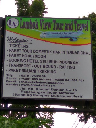 Lombok View Tour And Travel