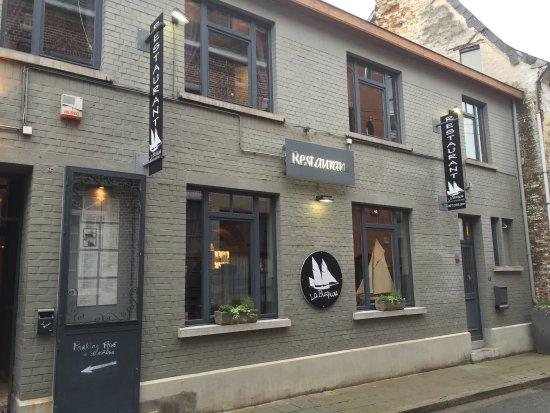 Nivelles, เบลเยียม: La façade du restaurant