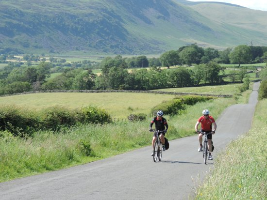 Penrith, UK: Cycling the Coast to Coast route