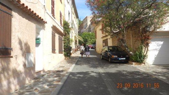 La Fleur de Thym: la rue d'accès