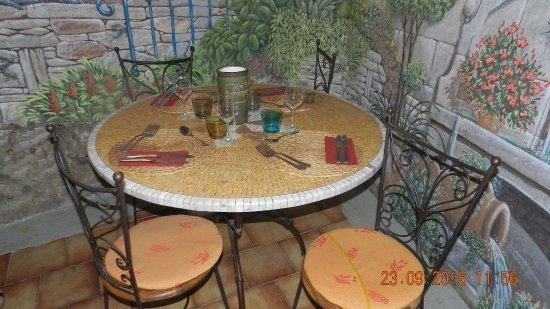 La Fleur de Thym: notre table