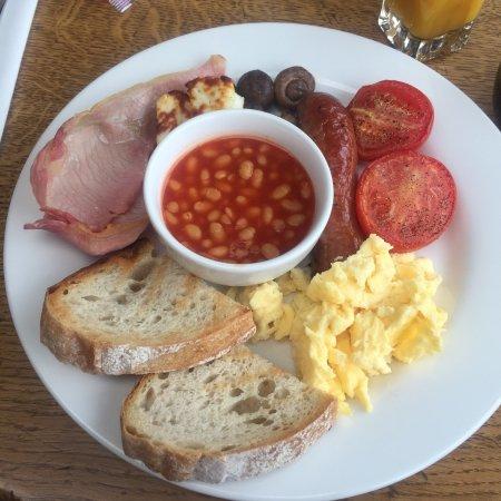 Middleton, UK: Delicious full English 😍