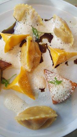 Restaurant Carl by Philipp Haiges: Ravioli with Pumkin