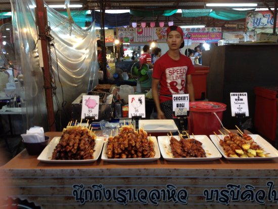 Chalong, Thailandia: Food Market