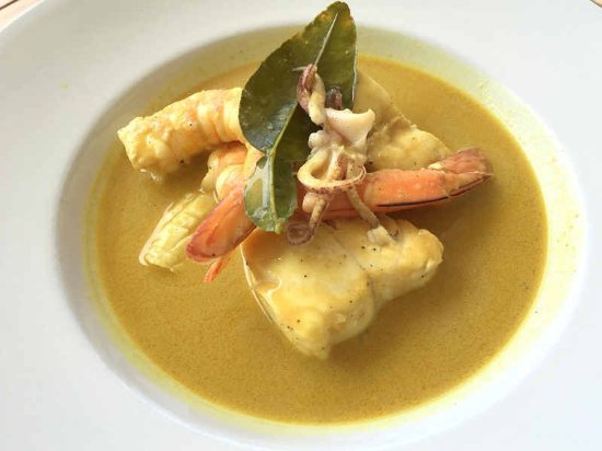 Mollymook, ออสเตรเลีย: Indonesian Seafood Curry