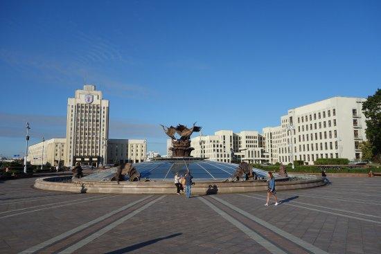 Independence Square, Minsk: Площадь Независимости