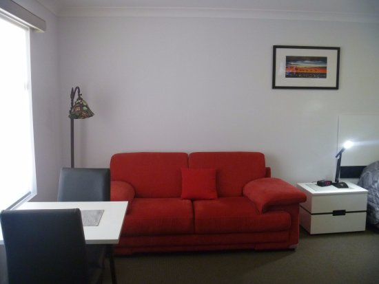Gunnedah, Australien: our lounge and table and chairs