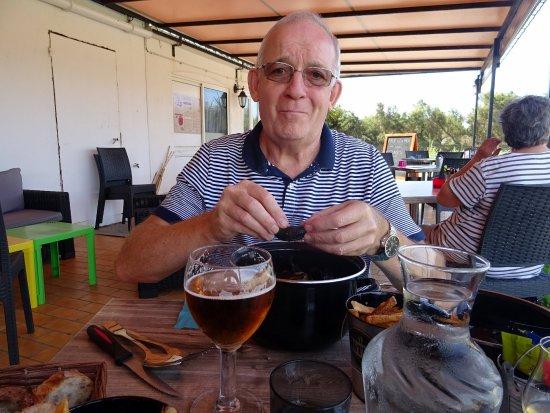 Saint-Denis d'Oleron, فرنسا: Moules frites