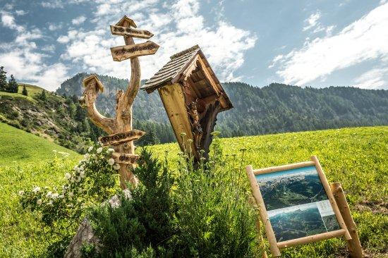 La Valle, Italy: partenza di escursioni da casa
