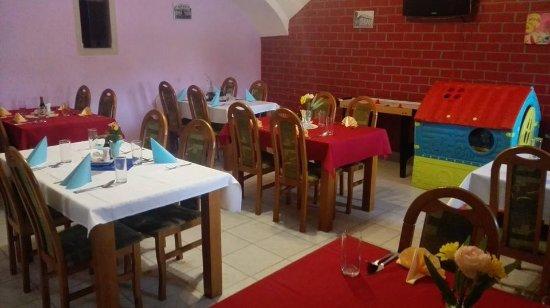 Πόπραντ, Σλοβακία: miestnosť s detským kútikom