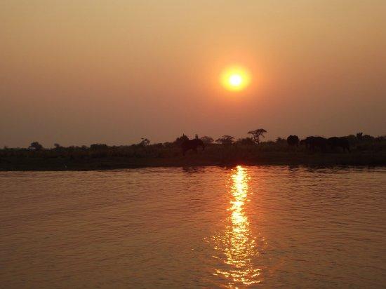 Касане, Ботсвана: Tramonto