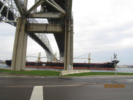 Port Huron, Μίσιγκαν: 토마스 에디슨 산책로(Thomas Edison Parkway Boardwalk)