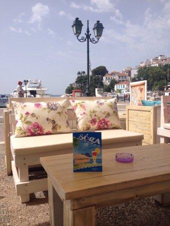 Skiathos Town, اليونان: Suga Cafe Bar