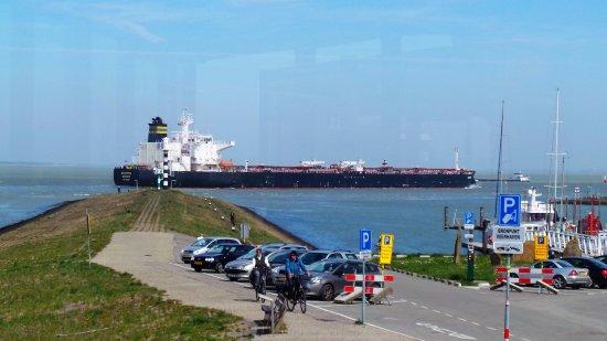 Terneuzen, Holandia: Wat een uitzicht !