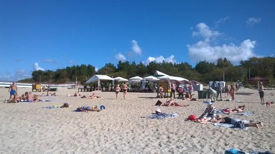 Palanga Beach  Strand in Palanga. Seebr cke in Palanga   Picture of Palanga Beach  Palanga   TripAdvisor