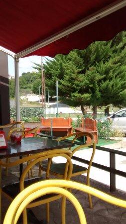 Venafro, Italia: Nice outdoors seating