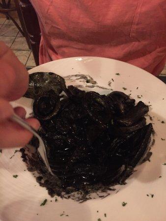 Can Forn: Calamari alla bruta Calamari alla paesana Frito de pulpo