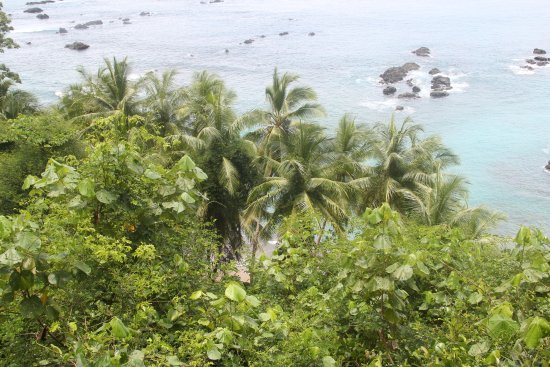 Drake Bay, Costa Rica: view from the island