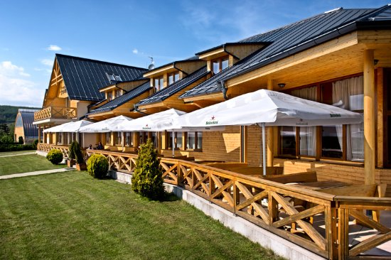Pezinok, Slovacchia: Restaurant Terrace