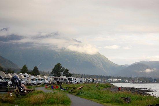 Waterfront Park Campground. Seward, Alaska