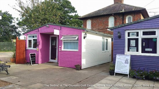 """Lytchett Minster, UK: """"The Studio"""" area of the The Courtyard has undergone a major facelift over the past few weeks!"""