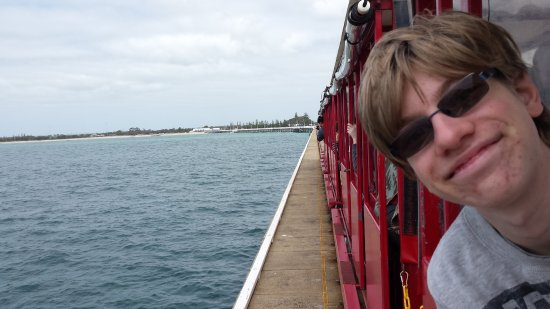 Busselton, Australia: Enjoying the ride