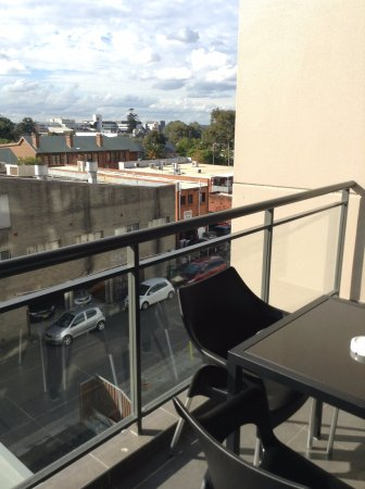 Liverpool, Australien: balcony view