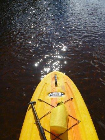 Labelle, Καναδάς: Descente tranquille de 12 km en SUP. Le bonheur!