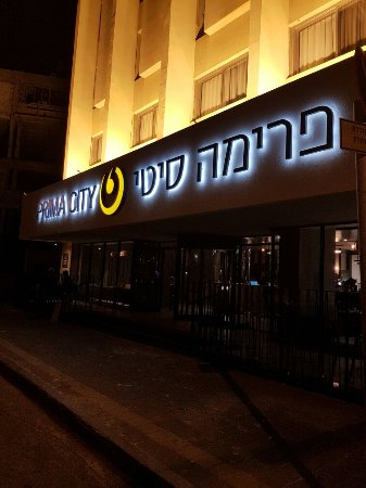 Hotel Prima City, Tel Aviv: 20160718_224251_large.jpg
