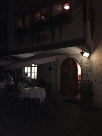 Wil, Suiza: Serata bellissima