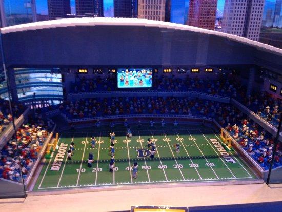 Auburn Hills, MI: Lion's stadium