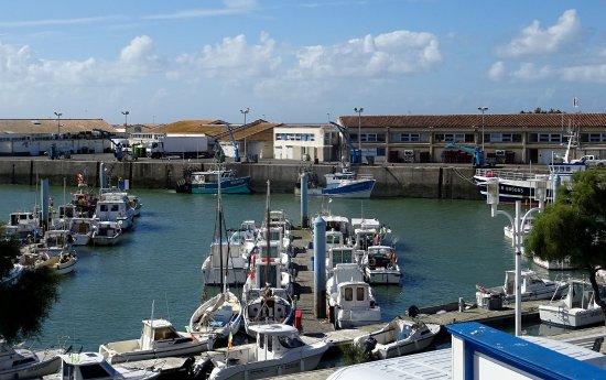 Saint-Pierre-d'Oleron, Francia: Vue depuis terrasse du restaurant