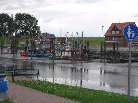 Butjadingen, Niemcy: Hafenblick
