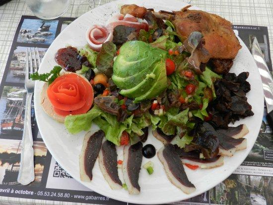 Monbazillac, فرنسا: La salade du Périgord