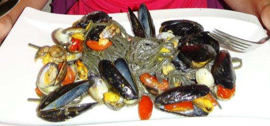 Kalos: Pasta mit Meeresfrüchten