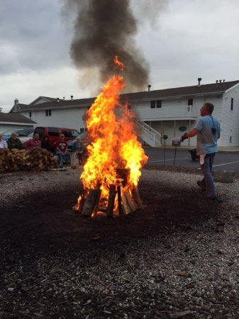 Ephraim, WI: Fish Boil at the Old Post Office