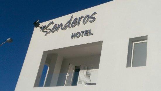Agua Amarga, España: Hotel Senderos