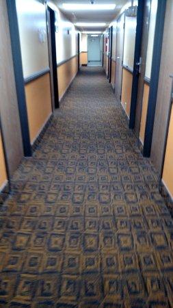 Emporia, KS : 1st floor hallway