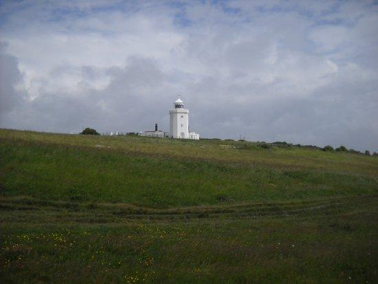 Falaises blanches de Douvres : Faro Light house