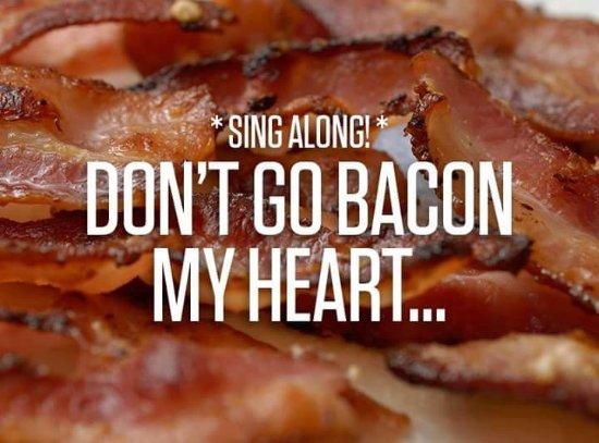 Retford, UK: Bacon