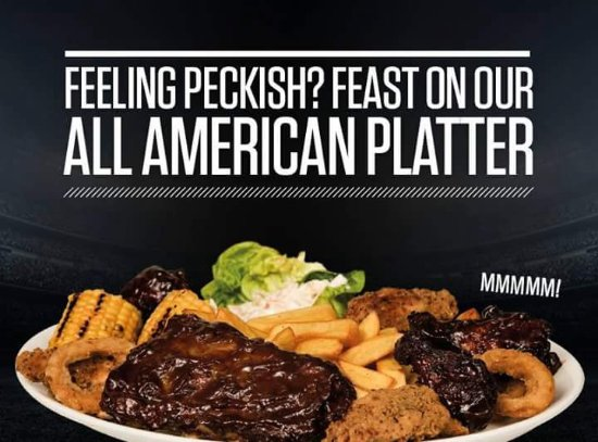 Retford, UK: All American platter