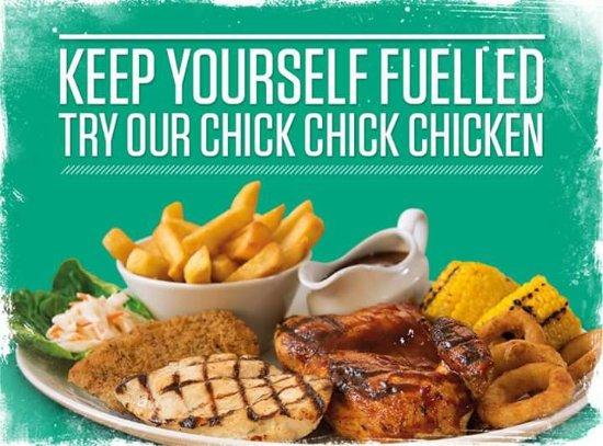 Retford, UK: Chick chick chicken