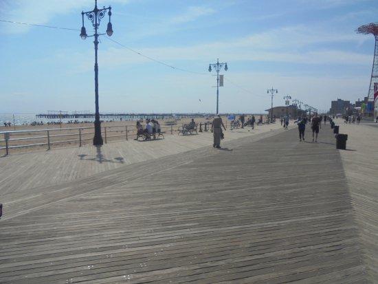 Coney Island USA: plage de Coney Island