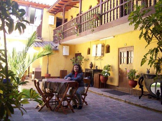 Hostal Quipu Cusco: Terraza del hostal.