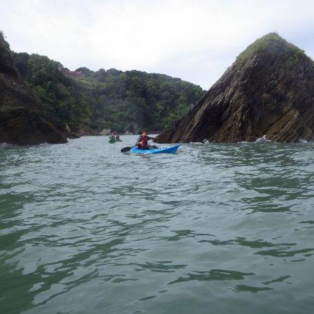 Kayaking Combe Martin