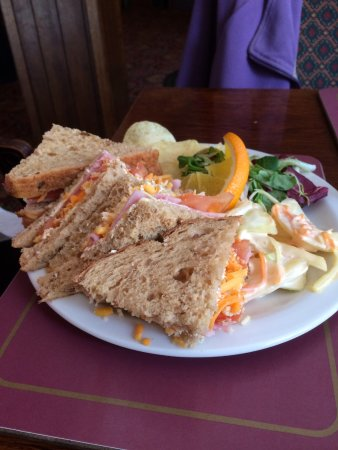 Northallerton, UK: Roast Beef on Granary